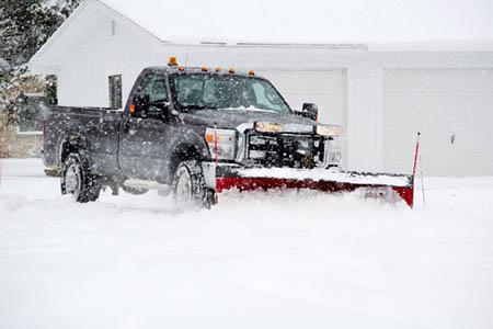 Snow plowing DiArcangelo Contracting
